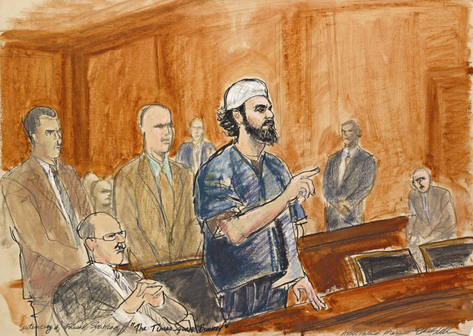 Times Square Bomber Sentencing